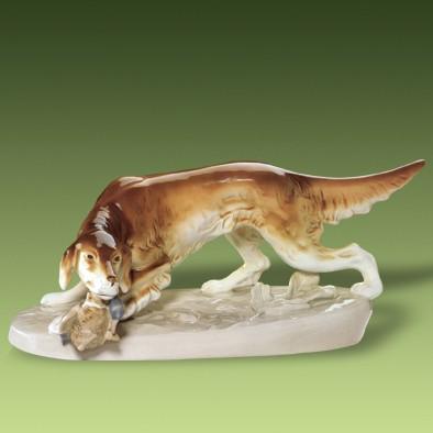 Prepeličiar 306   2 luxor. - Royal Dux Bohemia - Poľovnícky porcelán ... 9766e15d12e