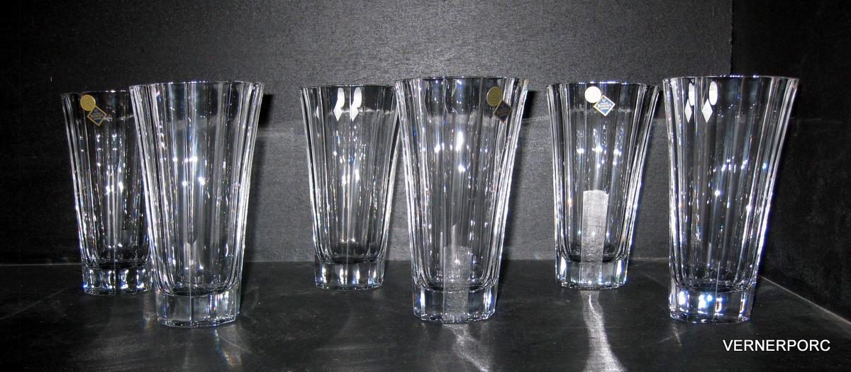 krištálové poháre na whisky