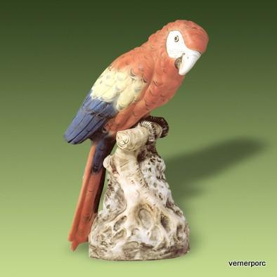 Papagáj 24500 pastel - Royal Dux Bohemia - Sošky zvierat  7f229352b14